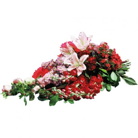 gerbe de fleurs pastel