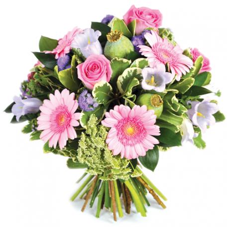 livraison de bouquet rond